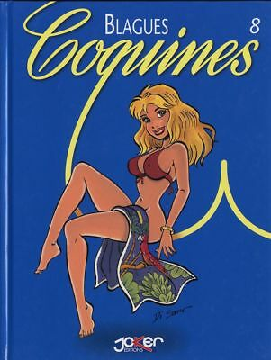 BD adultes Blagues Coquines Blagues Coquines, Tome 8