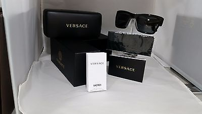 NEW Versace 4289 Sunglasses GB1/87 Black 100% AUTHENTIC