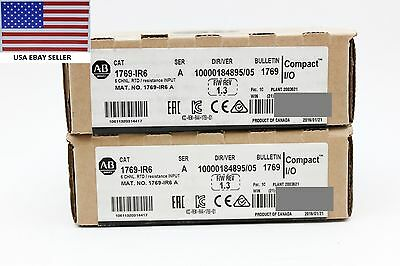 *Ships Today* 2017 Allen Bradley 1769-IR6 Resistance Input Sealed RTD