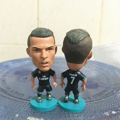 Statuina doll CRISTIANO RONALDO #7 REAL MADRID 1718 blue kit action figure doll