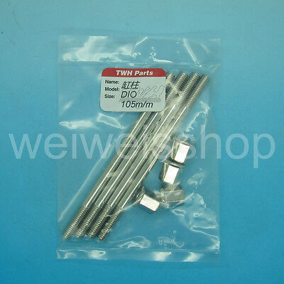 TWH High Quality Stainless Steel Engine Stud 105mm Honda Dio 50cc 40mm 44mm 47mm