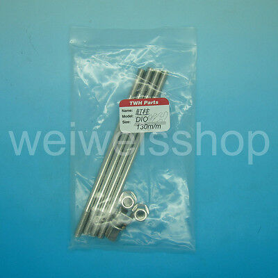 TWH High Quality Stainless Steel Engine Stud 130mm Honda Dio 125cc 54mm Cylinder