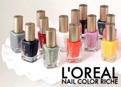 BUY 2 GET 1 FREE (Add All 3 To Cart)Loreal Colour Riche Nail Polish (YOU CHOOSE)