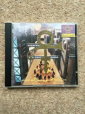 Prince and The NPG - Love Symbol Album CD - gold symbol and sticker on case