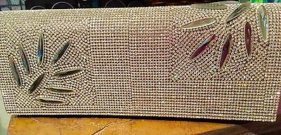 Evening Purse Clutch with Crystals