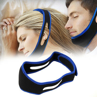 Adjustable Anti Snore Device Jaw Belt Stop Snoring Solution Chin Support Aid
