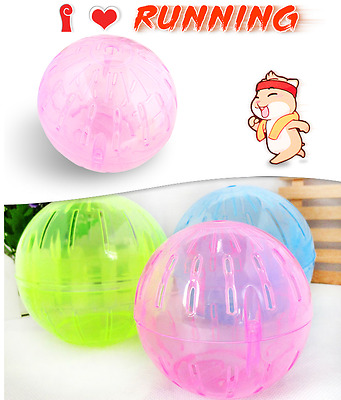 hamster ball - Hard Plastic Cute Hamster ball. 2 sizes & 4 colours Excersice Bal