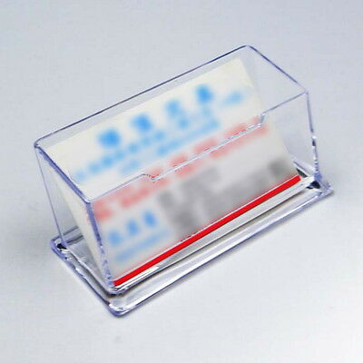 Popular Acrylic Business Desktop Card Holder Counter Top Display Stand