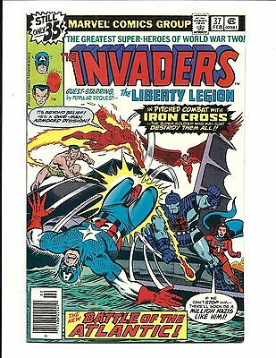 THE INVADERS # 36 (LIBERTY LEGION app, Cents Issue, FEB 1979), VF+