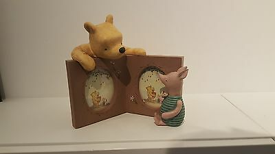 Michel & Company Winnie the Pooh & Piglet Double Picture Frame