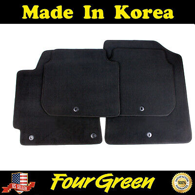 OEM 2011-2016 Hyundai Elantra Sedan 4PC BLACK CARPET FLOOR MATS [3XF14-AC200-RY]