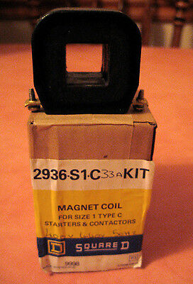 Magnet Coil Square D For Size 1 Type C Starter & Contactors 2936-S1-C