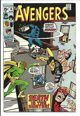 Avengers # 74 (Sons Of The Serpent, Mar 1970), Vf-