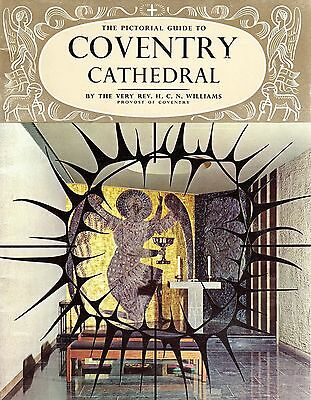 1966 Pitkin Guide Book  Coventry Cathedral 41511