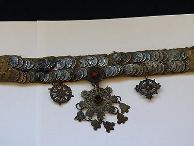 antique Ottoman ornament jewel Ottoman coins ornament For head SUPER RARE !