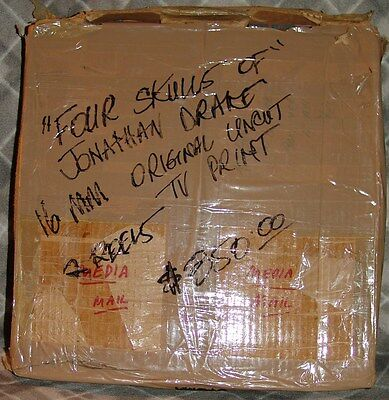 Four Skulls of Jonathan Drake 16mm feature film 2 reels/in box COMPLETE