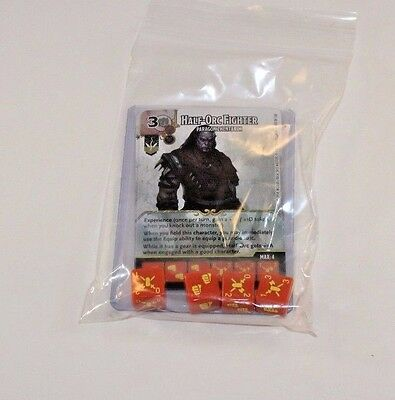 D/&D Dice Masters Battle for Faerun CUR RARE Uncommon Set 4 Dice FROST GIANT