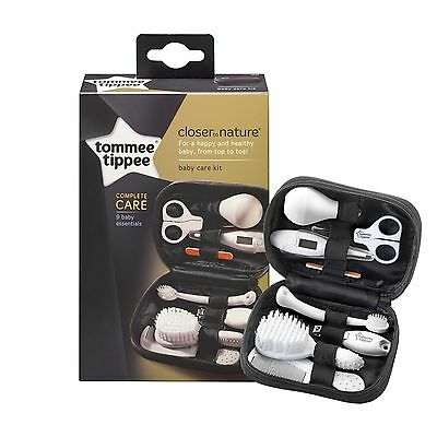 Tommee Tippee Baby Nail Clipper GROOMING Set kit Thermometer Manicure hair comb