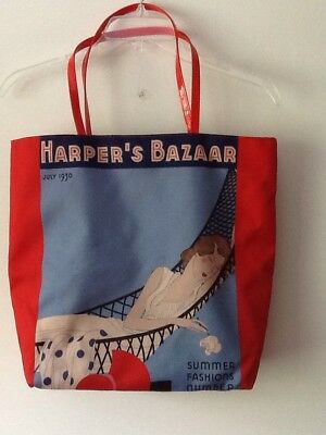 "Harper's Bazaar Vintage 1930 Tote Bag ""Lo and Behold"" By Charles J Pelton Summer"