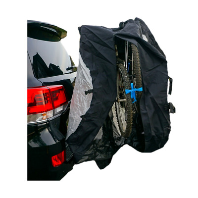 Dual Bike Cover for Transport on Rack