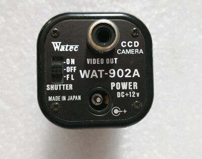 1pcs Used Watec WAT-902A black and white HD CCD camera