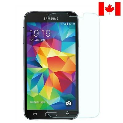 Premium Clear Tempered Glass Screen Protector For Samsung Galaxy S5 In Canada