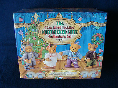 Cherished Teddies - Nutcracker Suite Collector's Set - 272388 - 1997