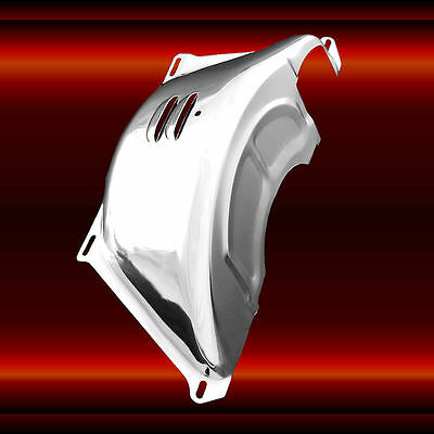 Flexplate Cover For Chevy TH350 and TH400 Transmissions Chrome SBC BBC