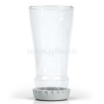 1PC Transparent Clear Beer Bottle Shaped Glass Beer-Wine Mug Tea Coffee Cup
