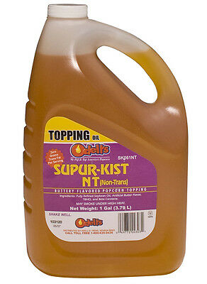 Odell's Supur-Kist Nt (NT) Buttery Flavored Popcorn Topping  (1 Gallon)