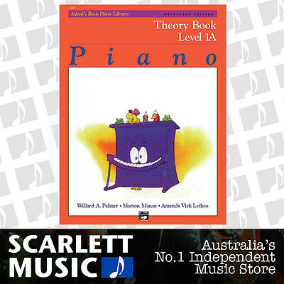 ABPL Alfred's Basic Piano Library - Alfreds Theory Book Level 1A *BRAND NEW*