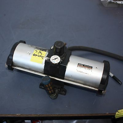 SMC EVBA4100-F04 Pneumatic Booster Regulator PNEUMATIC AIR