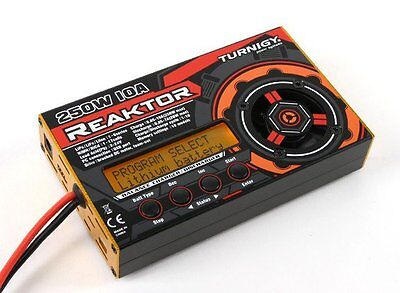 R/C Plane Reaktor 250W 10A 1-6S Balance Multi Chemistry Battery Charger.