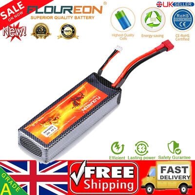 5200mAh 2S 7.4V 30C Li-Po Battery Deans for RC Car Helicopter Airplane FPV Drone