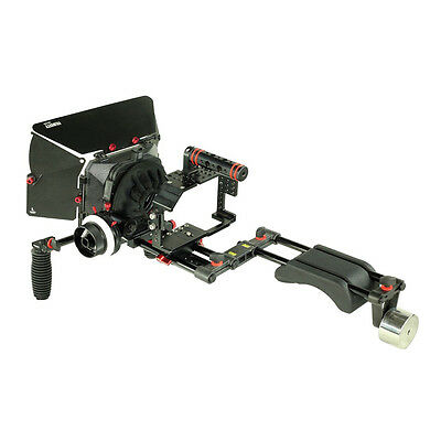 FILMCITY Shoulder Rig Kit for PANASONIC LUMIX GH4 GH3 and SONY-A7-A7r-A7s Camera