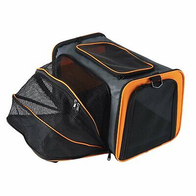 Folding Expandable Pet Carrier Hand Shoulder Bag Kennel Cage Tote Fr S-L Dog Cat