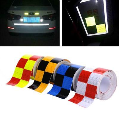Safety Warning Reflective Conspicuity Tape Adhesive Sticker Trucks Car B