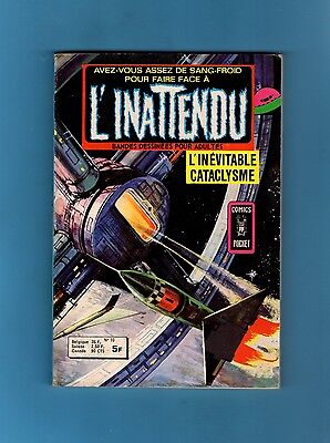 ►L'inattendu  N°10 - L'inevitable Cataclysme  - Comics Pocket 1977