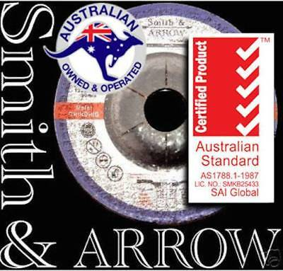 "GRINDING WHEELS 125mm 5"" DISCS METAL STEEL ANGLE GRINDER CUTTING FLAP x 5/25"