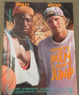 White Men Cant Can't Jump Poster 61 x 46 cms