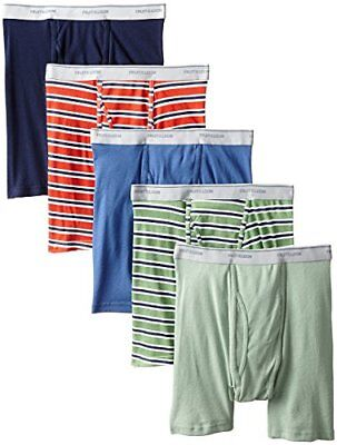 Fruit of the Loom Men's 5 Pack Boxer Briefs Cooling Breathable Size XL
