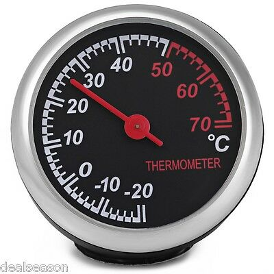 New Car Mechanics Thermometer Digital Pointer temperature  for 12V Auto Time