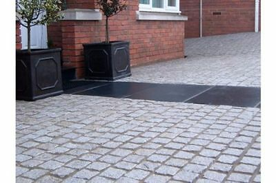 Silver Grey Granite Setts 100mmx100mm 1m2 Indian Stone Natural Patio Grey Cobble