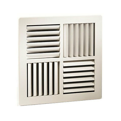 Square Ceiling Vent Cooling Vent 4Way Evap Evaporative 358x358mm FACE size vent