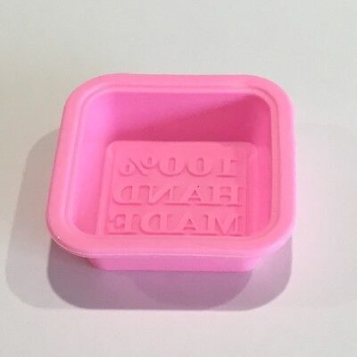 Silicone Soap Mould - 100% Hand Made