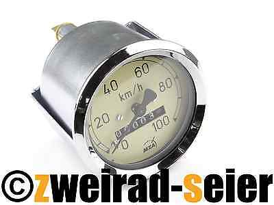 Tachometer Tacho AS 60mm  - (100 Km/h) - Berliner Roller SR59