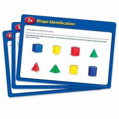 Learning Resources Folding Geometric Shapes Activity Cards