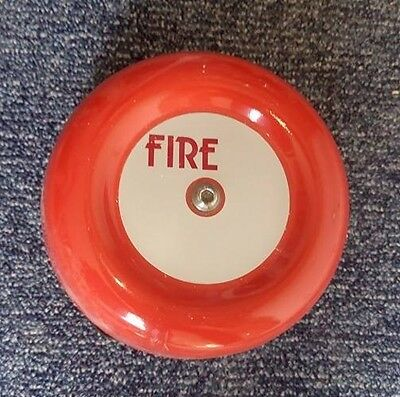 Red Fire Alarm Fire Bell excellent condition