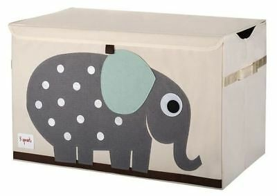 3 Sprouts Toy Chest - Elephant