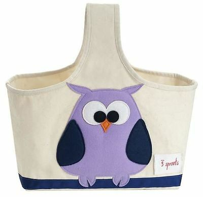 3 Sprouts Storage Caddy - Owl